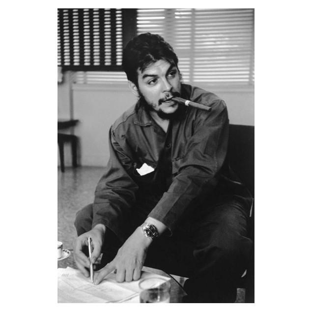 Affiche Che Guevara, R. BURRI 50x70 cm