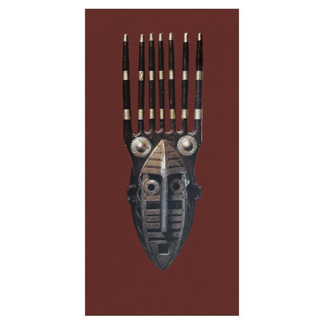 African art photo poster - 50 x 100 cm