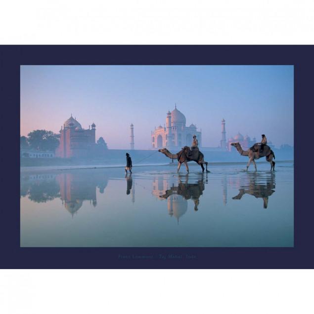 Taj Mahal, Inde - Frans LEMMENS - 50x70 cm