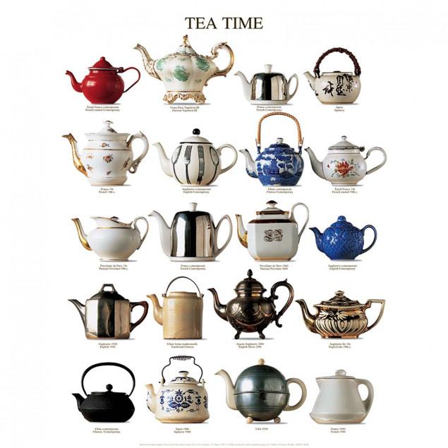 Tea Time poster - 40 x 50 cm