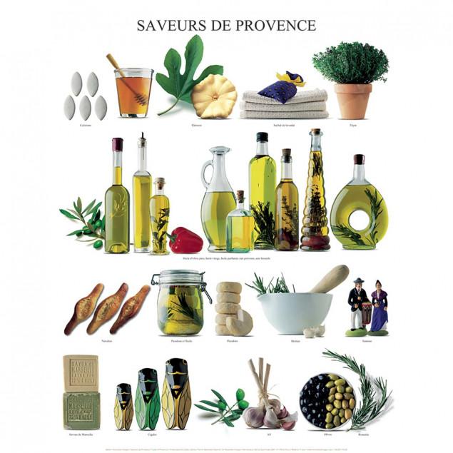 Taste of Provence poster - 40 x 50 cm