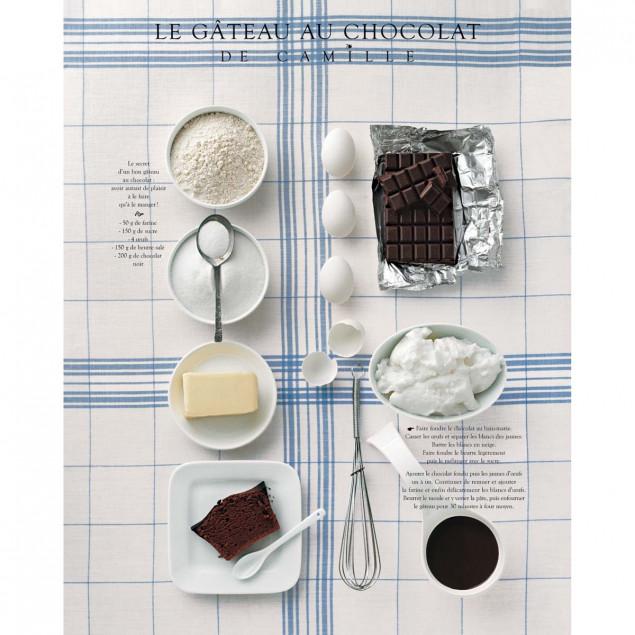 Le gâteau au chocolat de Camille