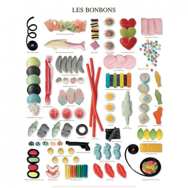 Sweets Poster - Atelier Nouvelles Images - 40x50 c