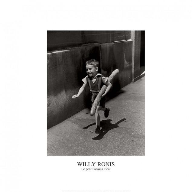 Affiche Le petit parisien - W. Ronis - 50x70 cm