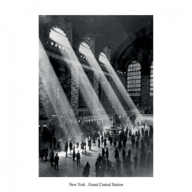 Grand Central Station poster, HERBERT
