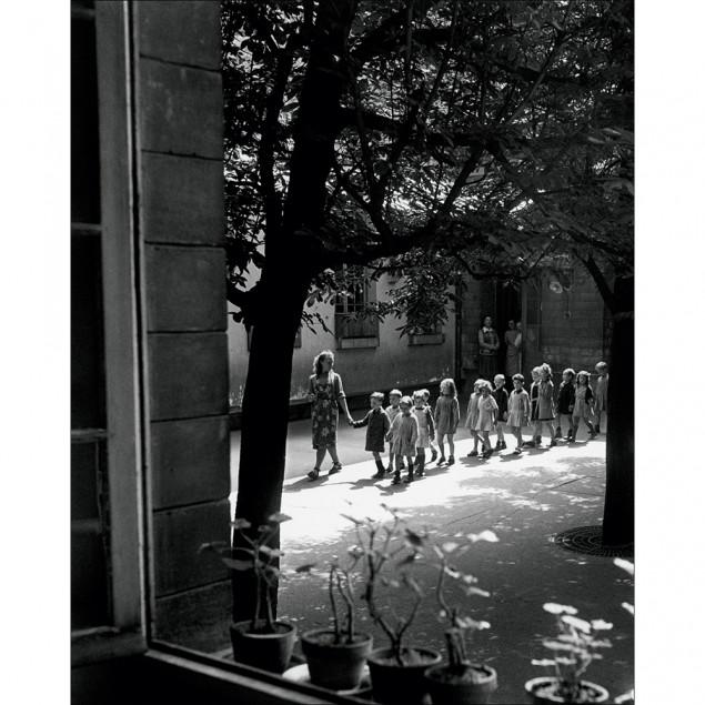 Affiche Ecole Ménilmontant, W. RONIS 40x50 cm