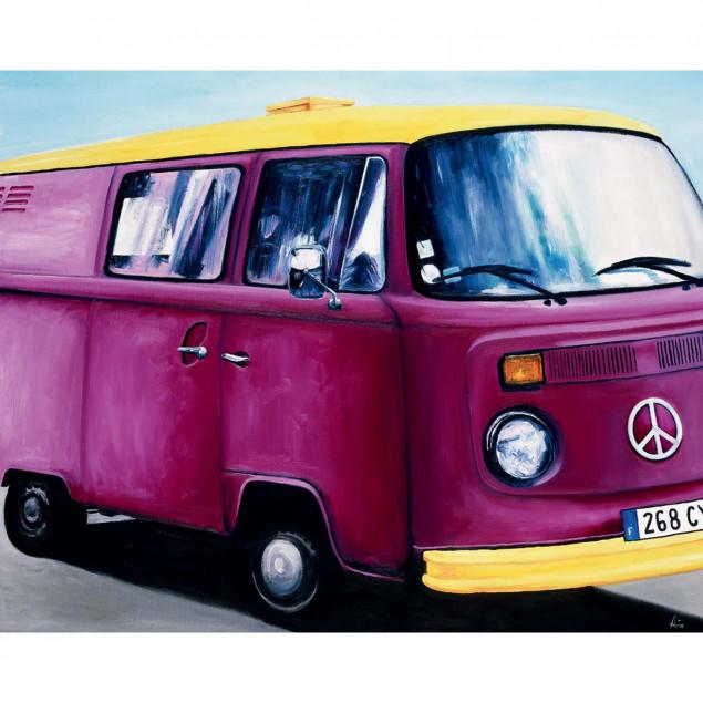 Minibus Poster, Aviva Brooks