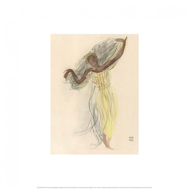 Danseuse Cambodgienne / Auguste RODIN (1840-1917)