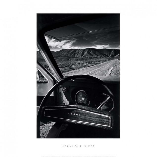 Affiche Le Volant De La Dodge, Vallée De La Mort,
