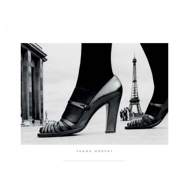 Shoes and Eiffel Tower, Paris, 1974