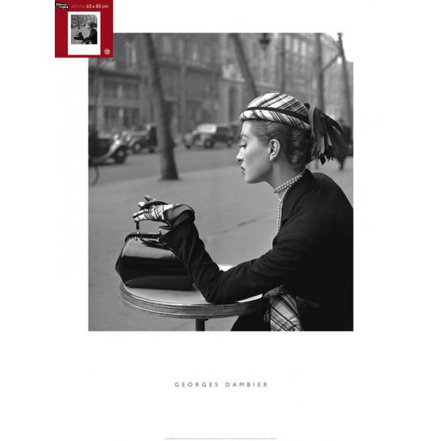 Capucine Café de la Paix poster, G. DAMBIER 60x80