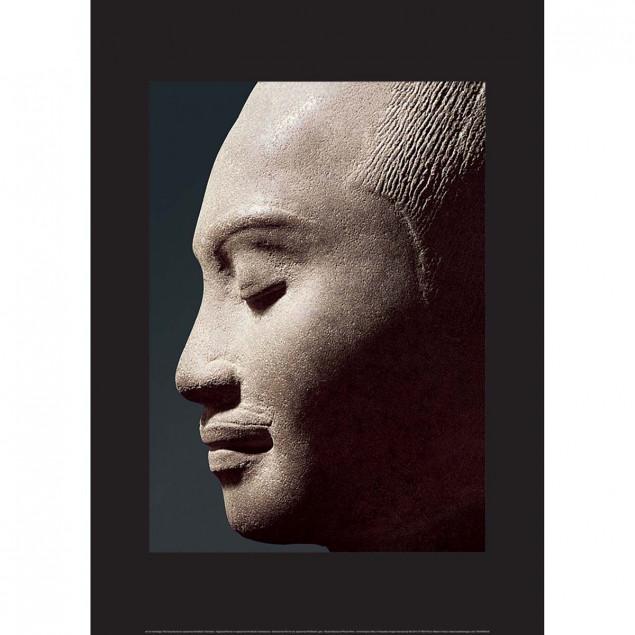 Affiche Portrait présumé de Jayavarman VII - 50x70
