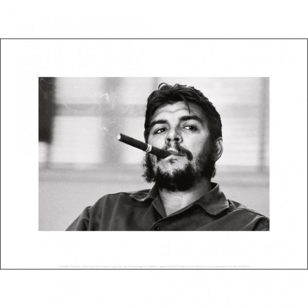 Affiche Che Guevara, R. BURRI 30x40 cm