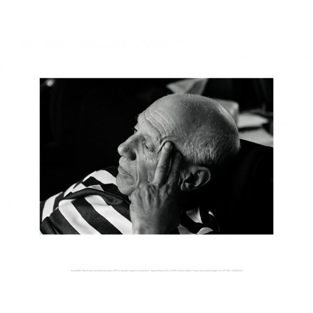 Affiche Pablo Picasso à Cannes, 1957 - René BURRI