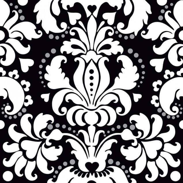 White baroque Flower