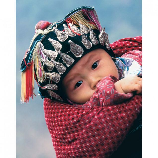 Miao Baby, Guizhou Province, China