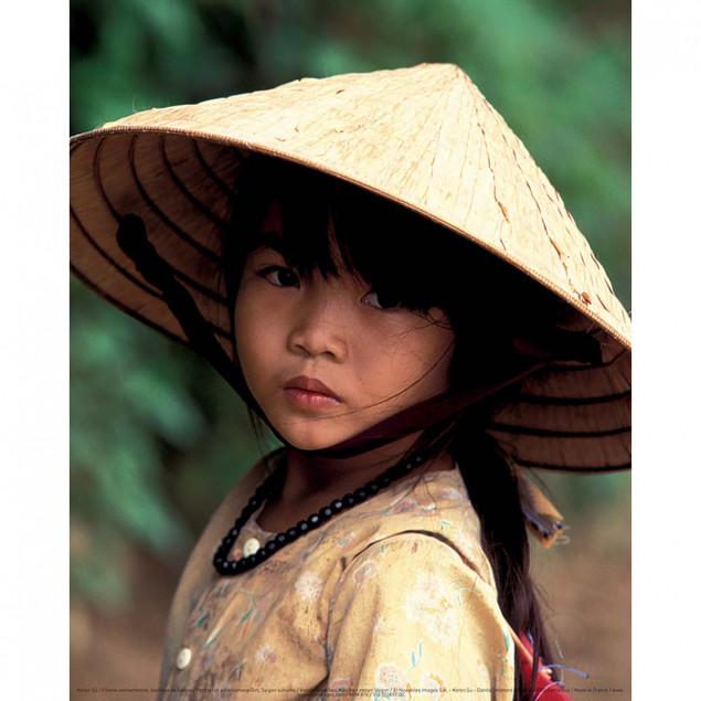 Portrait of a Vietnamese Girl, Saigon suburbs