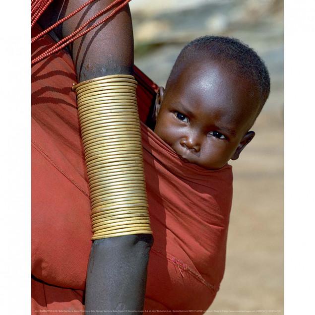 Bébé Samburu, Kenya
