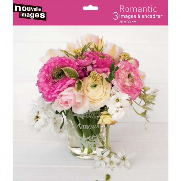 Romantic - 3 30 x 30 cm posters