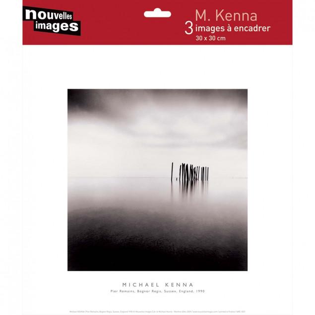 3 Zen Landscapes posters, Michael Kenna
