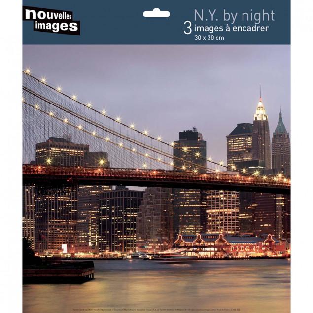 New York by Night, Torsten Andreas Hoffmann - 30 x