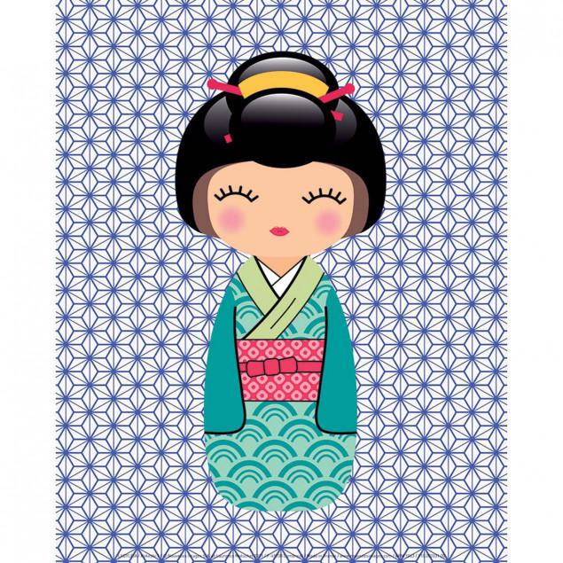 Kokeshi 1, Ladyleia poster - 24 x 30 cm