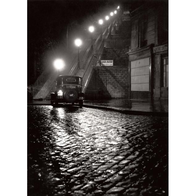 Toile imprimée Rue Muller, Montmartre - W. RONIS,
