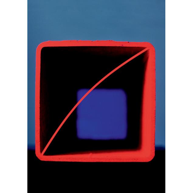 Toile imprimée 90x126 cm Cube de spaghettis (Mikaë