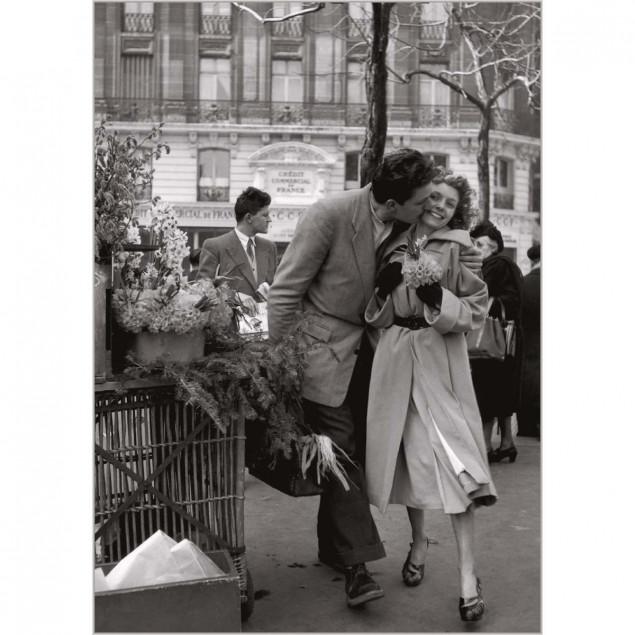 Lovers with leeks, Paris, 1950