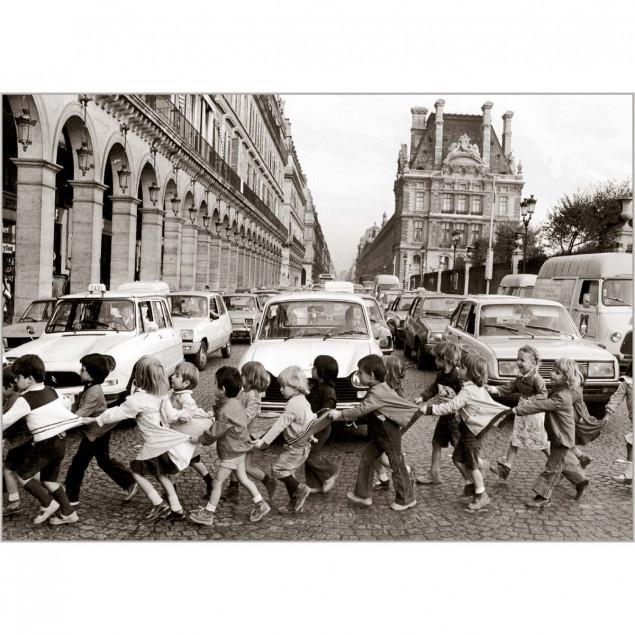 Carte Les tabliers de la rue de Rivoli -R.DOISNEAU