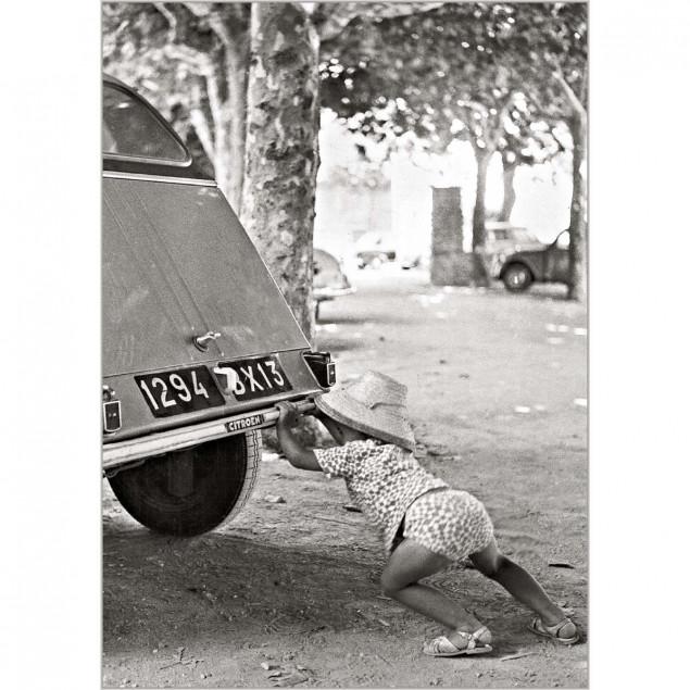 Broken down 2 CV, 1964
