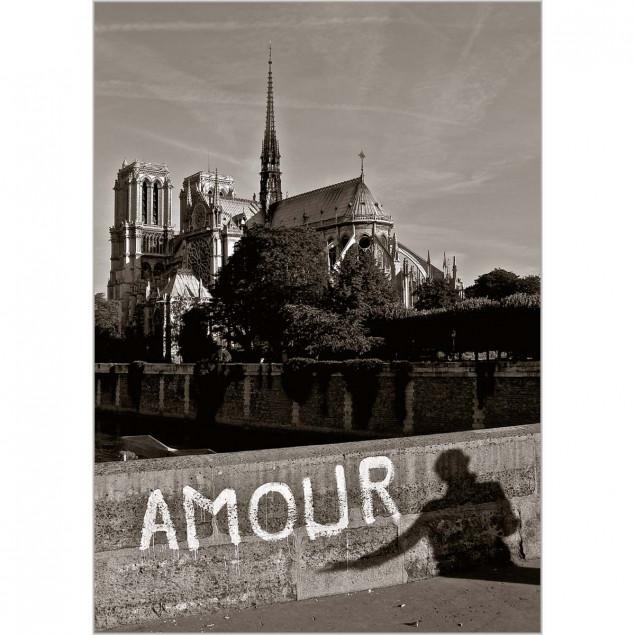 """""""Amour, Notre Dame, Paris"""" (Love, Notre Dame, Pari"""