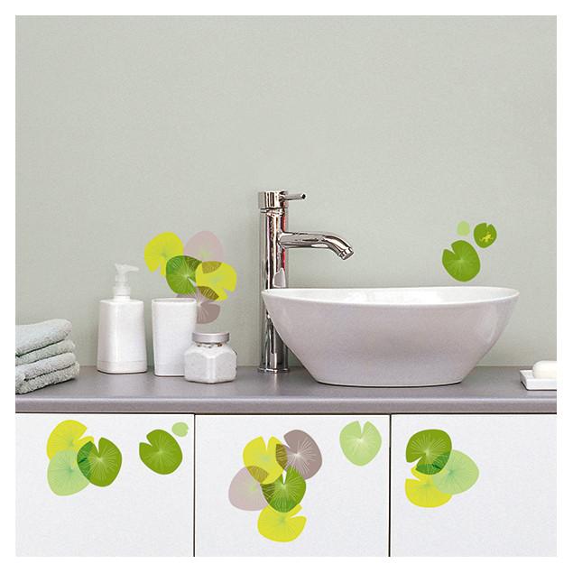 Water lilies wall sticker
