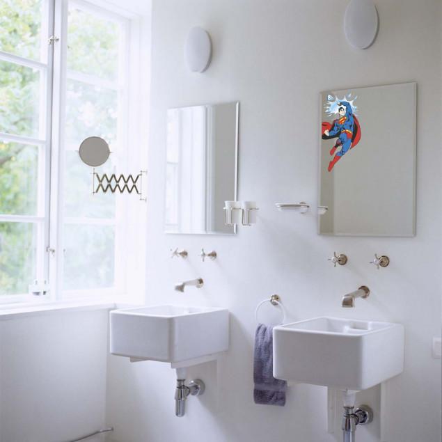 Superman window sticker