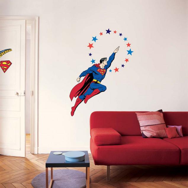 XXL Superman wall sticker
