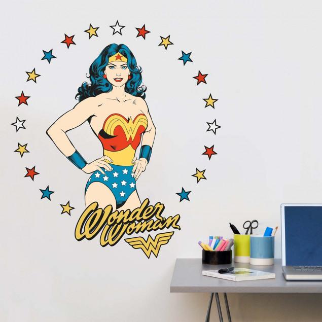 XL Wonder Woman wall stickers