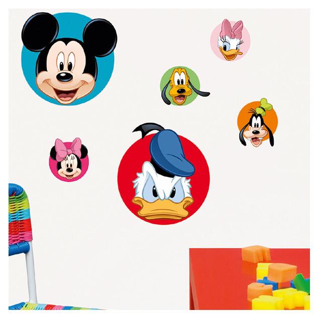 Sticker mural Sticker mural Mickey et ses amis