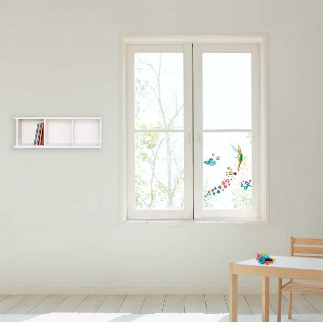 Tinkerbell window sticker