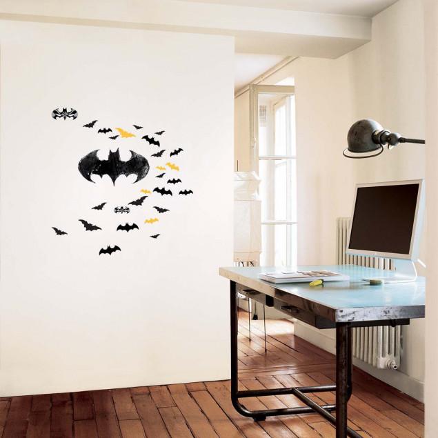 XL Batman logo wall stickers