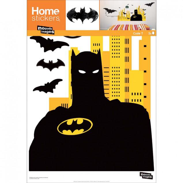 XXL Batman city wall stickers