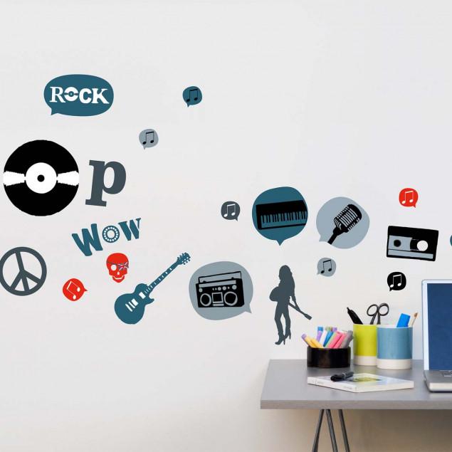 XL London Rock wall sticker