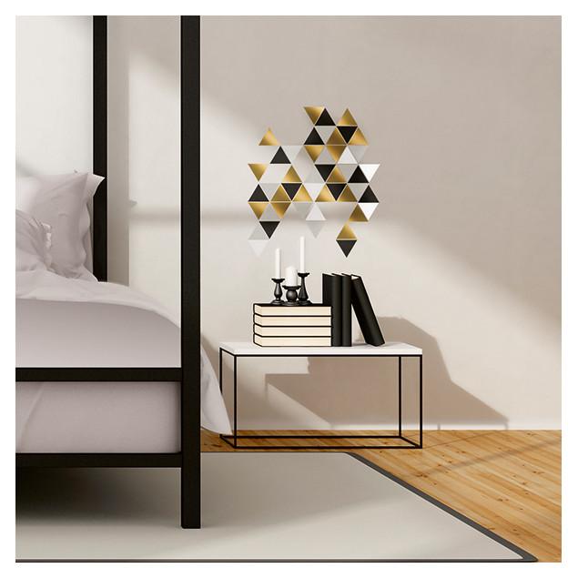 Multi-coloured Triangles Wall Stickers