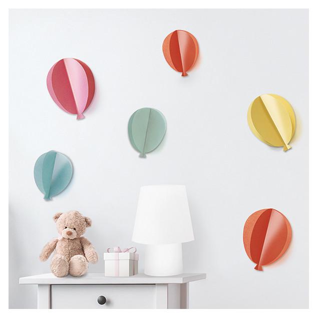 Stickers muraux Ballons 3D