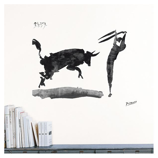 Toros y Toreros wall sticker, P. PICASSO