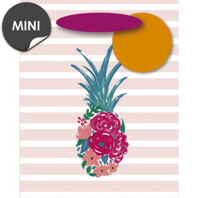 Pineapple in bloom gift bag