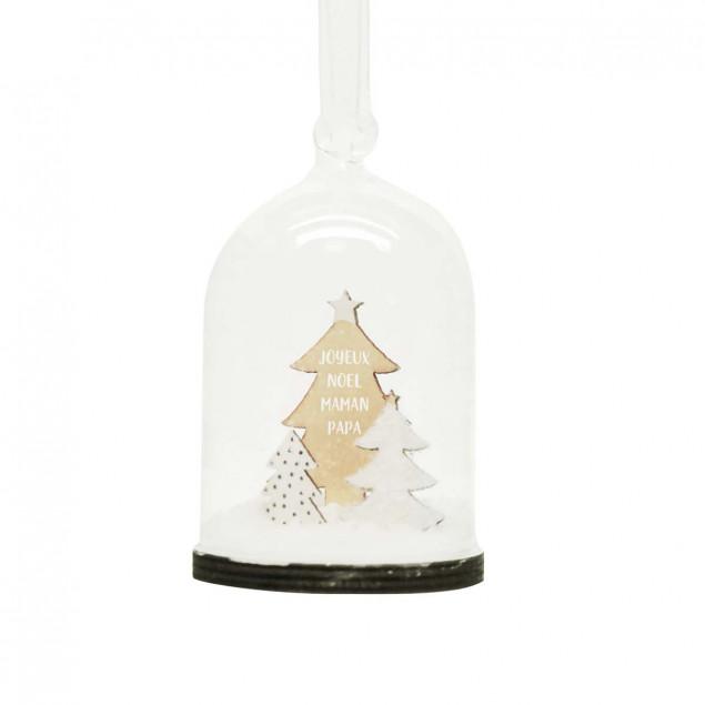 Christmas snow globe for Parents