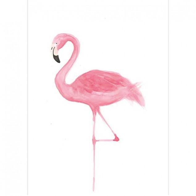 Window sticker Flamingo 26 x 36 cm
