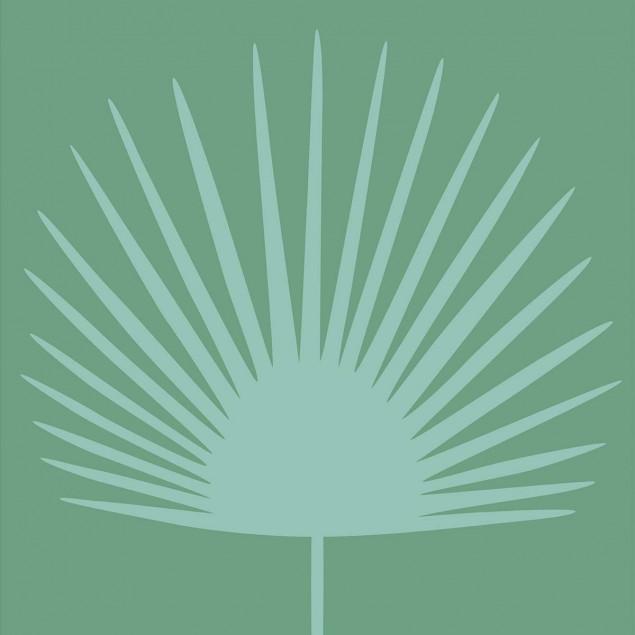 Carrelages adhésifs - Feuille de palme