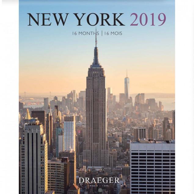 Calendrier City.Small New York Wall Calendar 2019 14x18 Cm