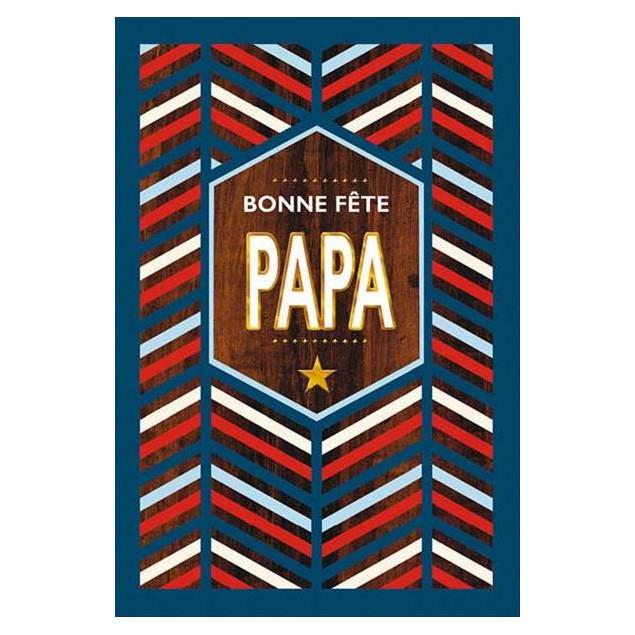 """Bonne Fête Papa"" (Happy Father's Day Dad) card"
